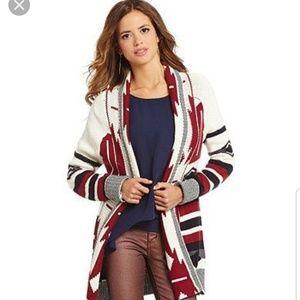 Gianni Bini  tribal sweater